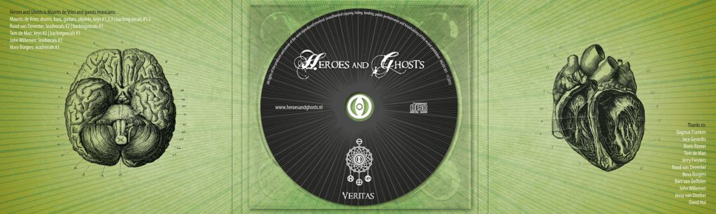 Heroes and Ghosts - Veritas (digipack inside + tray)